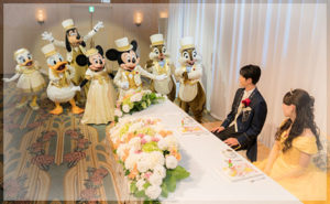 東京ディズニーシーホテルミラコスタの結婚式場